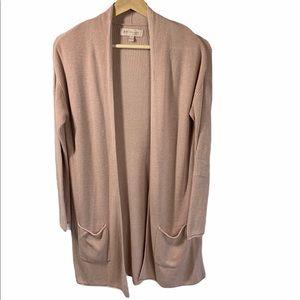Philosophy long pink cardigan - Size S